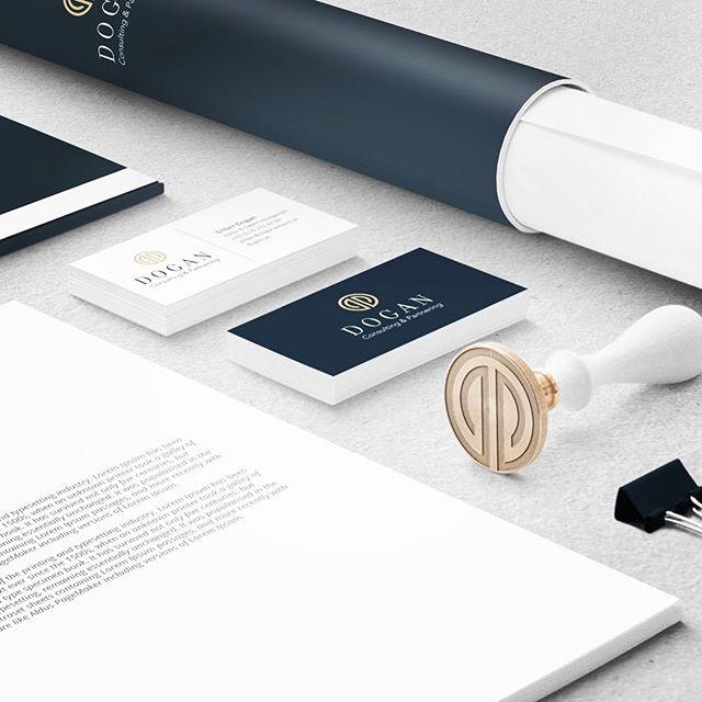 Grafisk Profil Dogan Consulting & Partnering framtagen av Wahlbergs Grafiska