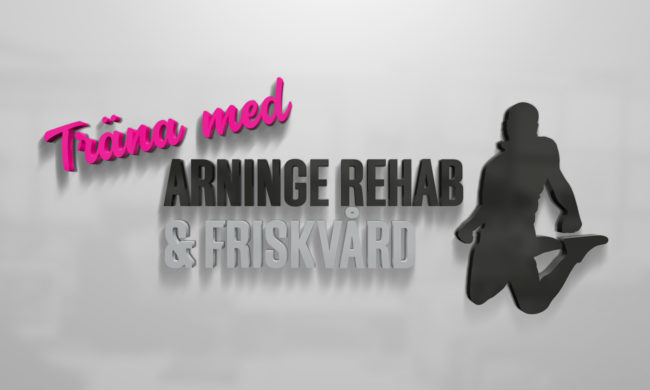337ea505378 Logotyp som Wahlbergs Grafiska gjort till Arininge Rehab & Frikskvård